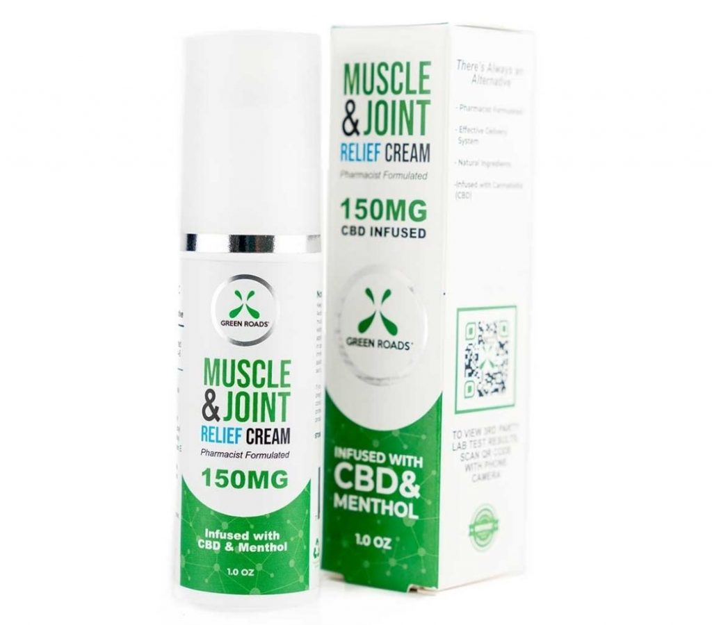 Cannabidiol CBD Topical Muscle and Joint Cream